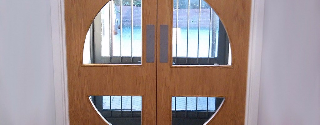 quadrant vision panel fire doors